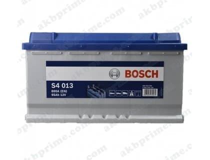 Аккумулятор Bosch Silver 95Ah 800A R+