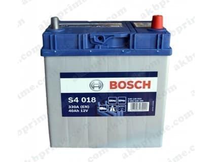 Аккумулятор Bosch Silver Asia 40Ah 330A JR+