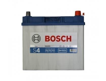 Аккумулятор Bosch Silver Asia 45Ah 330A JR+