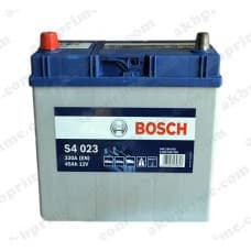 Аккумулятор Bosch Silver Asia 45Ah 330A JL+