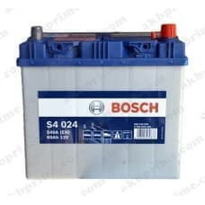 Аккумулятор Bosch Silver Asia 60Ah 540A JR+