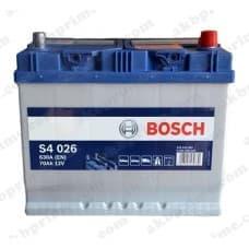 Аккумулятор Bosch Silver Asia 70Ah 630A JR+