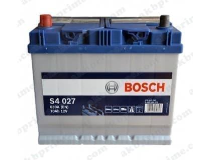 Аккумулятор Bosch Silver Asia 70Ah 630A JL+