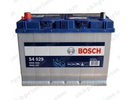 Аккумулятор Bosch Silver Asia 95Ah 830A JL+