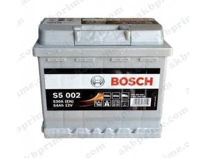 Аккумулятор Bosch Silver Plus 54Ah 530A R+