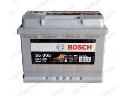 Аккумулятор Bosch Silver Plus 63Ah 610A R+