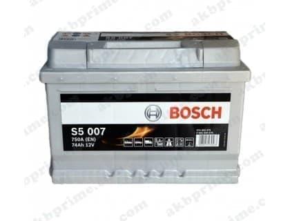 Аккумулятор Bosch Silver Plus 74Ah 750A R+