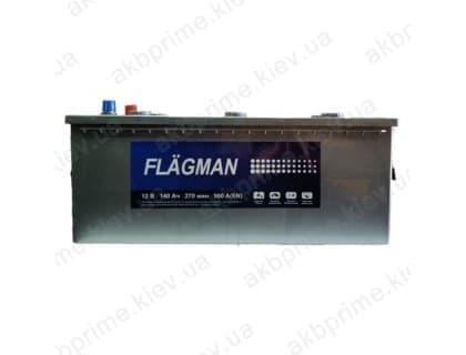 Аккумулятор Flagman Standart 140Ah 900A L+