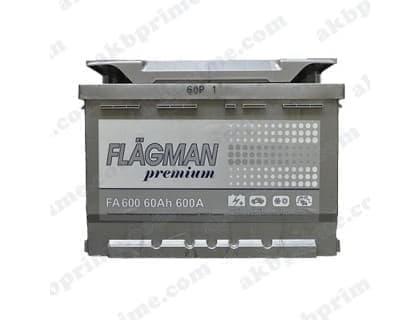 Аккумулятор Flagman Premium 60Ah 600A R+