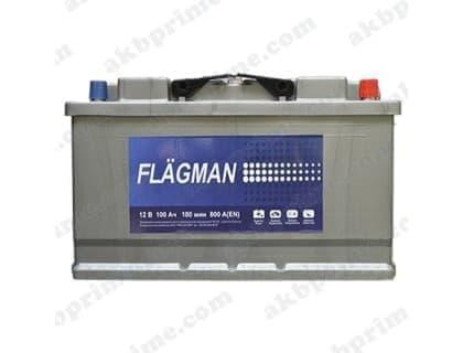 Аккумулятор Flagman Standart 100Ah 800A R+