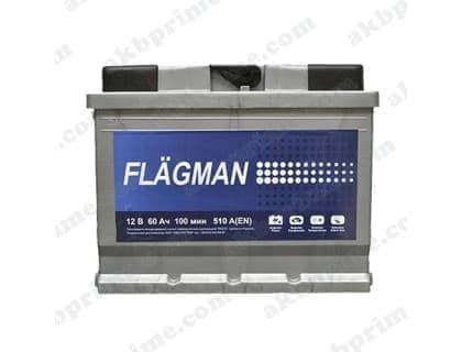 Аккумулятор Flagman Standart 60Ah 510A R+