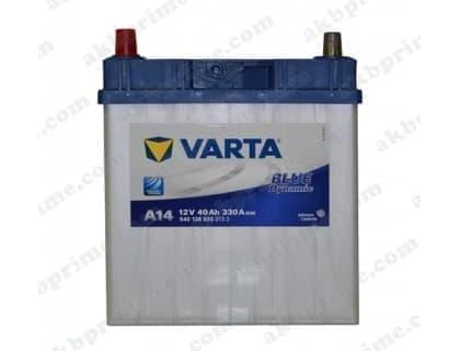 Аккумулятор Varta Blue Dynamic 40Ah 330A JL+
