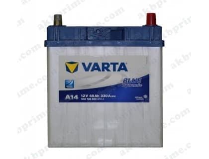 Аккумулятор Varta Blue Dynamic 40Ah 330A JR+