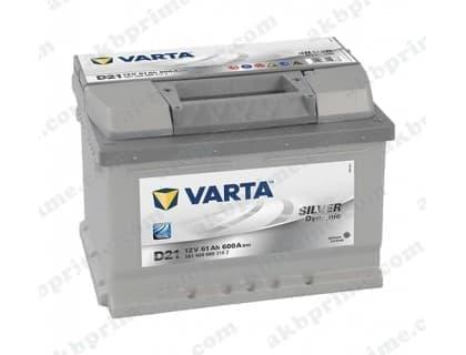 Аккумулятор Varta Silver Dynamic 61Ah 600A R+