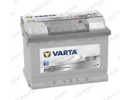 Аккумулятор Varta Silver Dynamic 63Ah 610A R+