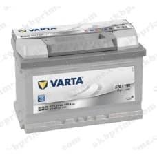 Аккумулятор Varta Silver Dynamic 74Ah 750A R+