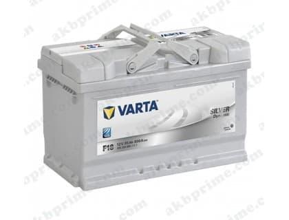 Аккумулятор Varta Silver Dynamic 85Ah 800A R+