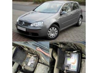 Замена аккумулятора на автомобиль Volkswagen Golf 1.6 бензин
