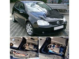 Замена аккумулятора на автомобиль Volkswagen Golf 1.9 TDI дизель
